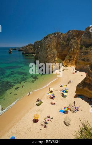 Praia da Dona Ana, Algarve, Portugal - Stockfoto