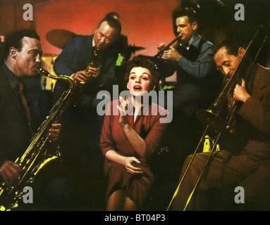 Ein STAR ist geboren 1954 Warner-Film mit Judy Garland - Stockfoto