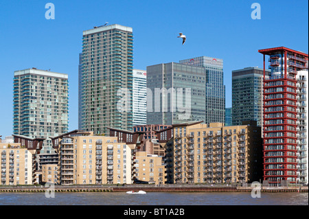 Isle of Dogs - Docklands - Tower Hamlets - London. - Stockfoto