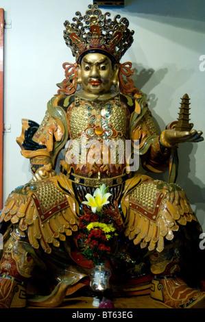 Tian Tan Tempel Hongkong Geist Gott Keramik Tongefäße glasierte - Stockfoto