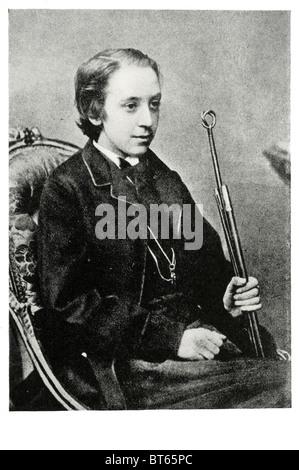 Robert Louis Balfour Stevenson Herr im Alter von 16 13. November 1850 – 3. Dezember 1894 schottischen Schriftsteller - Stockfoto