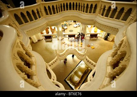 Das Innere des Jugendstil-Museum für angewandte Kunst. Budapest Ungarn - Stockfoto