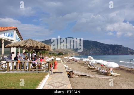 Kalamaki Beach, Kalamaki, Zakynthos, Ionische Inseln, Griechenland - Stockfoto