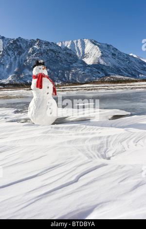 Weihnachten dekoration schneemann stockfoto bild for Dekoration schneemann