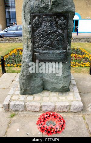Die Schlacht um England Memorial in hellfire Ecke - folkestone Kent - Stockfoto