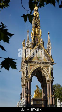 Das Albert Memorial, London - Stockfoto