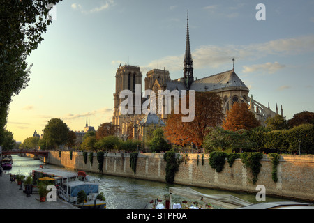 Kathedrale Notre-Dame in Paris - Stockfoto