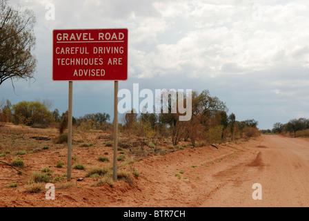 Australien, Mereenie Loop road - Stockfoto