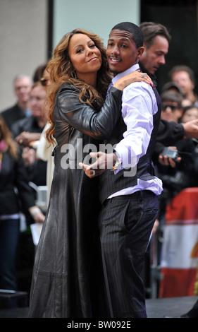 NBC Today Show Konzert mit Mariah Carey - Stockfoto
