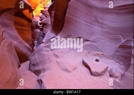 Lower Antelope Canyon, Arizona, USA - Stockfoto