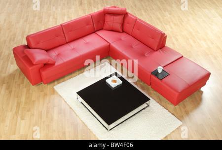 sofa mit kissen stockfoto bild 19190683 alamy. Black Bedroom Furniture Sets. Home Design Ideas