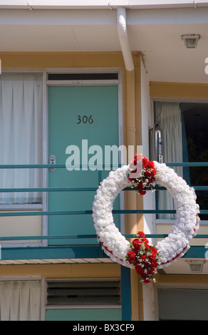 Lorraine Motel Memphis Tennessee, wo Dr. Martin Luther King ermordet wurde, - Stockfoto