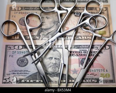 Medizinische Kosten - Stockfoto