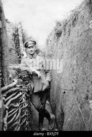 Veranstaltungen, Ersten Weltkrieg/WWI, Western Front, Frankreich, 1915-1918, Königlich Bayerische Infanterie Regiment - Stockfoto