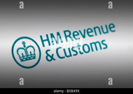 UK Steuern hm Revenue & Zoll logo - Stockfoto