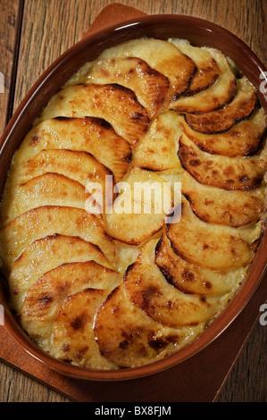 Pommes-Vanilleeis. Vanilleeis-Kartoffeln - Stockfoto