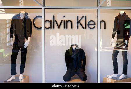 Calvin Klein Store, Orlando Premium Outlets, Lake Buena Vista, Orlando, Florida, USA - Stockfoto