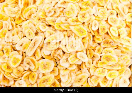 getrocknete bananenchips close up stockfoto bild 13872980 alamy. Black Bedroom Furniture Sets. Home Design Ideas