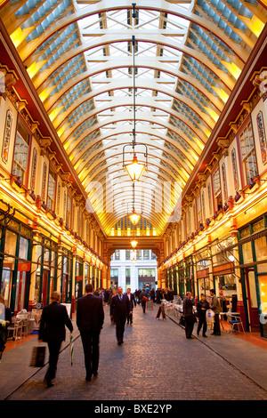 Europa, United Kingdom, England, London, Leadenhall Market - Stockfoto