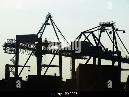 Container-Kran - Stockfoto
