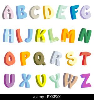 3D Buchstaben - Stockfoto
