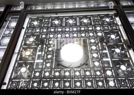 Fensteröffnungen, Institut du Monde Arabe Gebäude, Paris, Frankreich - Stockfoto
