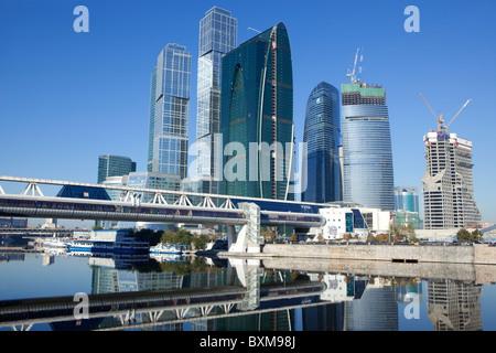 Skyline der Stadt Hauptstädte in Moskau, Russland - Stockfoto