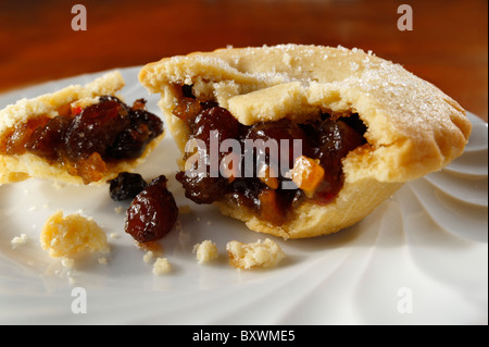Traditionelle Weihnacht Mince Pies - Stockfoto