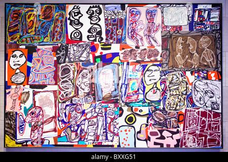 'La Ronde des Images' Jean Dubuffet, 1977 - Stockfoto