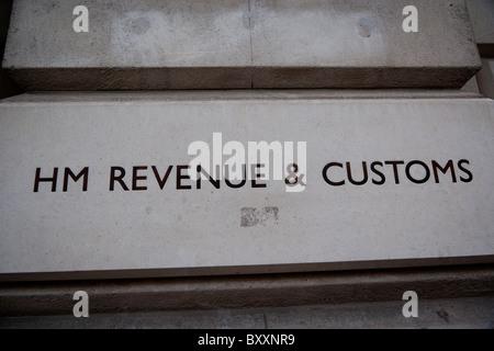 HM Revenue & Zollgebäude, Parlament Street, London, Großbritannien - 2010 - Stockfoto