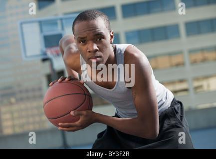 USA, Utah, Salt Lake City, Basketball-Spieler, basketball - Stockfoto