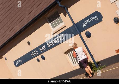 Die Adnams Brauereigebäude in Southwold, Suffolk, England, Großbritannien, Uk - Stockfoto