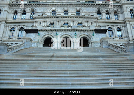 "Stufen des Capitol Building, Albany New York """" - Stockfoto"