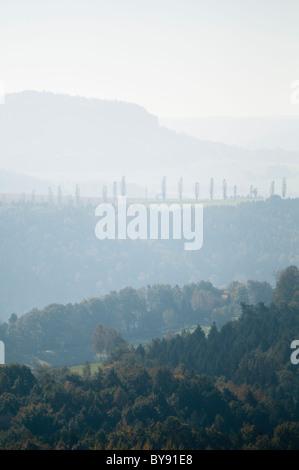 Nationalpark Sächsische Schweiz, Sachsen, Deutschland, Europa - Stockfoto