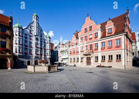 brunnen auf dem marktplatz in ladenburg baden w rttemberg deutschland stockfoto bild. Black Bedroom Furniture Sets. Home Design Ideas