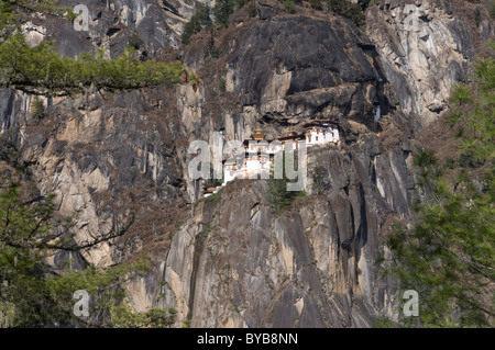 Taktshang Goemba, des Tigers Nest Kloster, Bhutan, Asien