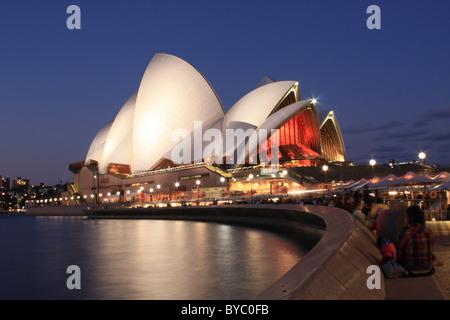Sydney Opera House, New-South.Wales, Australien - Stockfoto