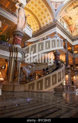 Das Forum Shops im Ceasars Palace, Las Vegas, Nevada - Stockfoto