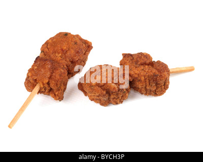 Chicken Tikka Kebabs - Stockfoto