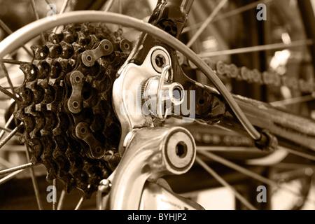 Fahrrad-Getriebe - Stockfoto