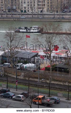 Fluss Seine Paris Frankreich - Stockfoto