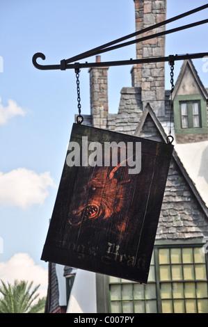 Zauberwelt von Harry Potter - Stockfoto