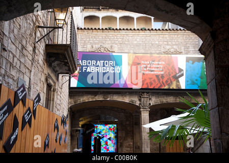 Museu Textil ich de Indumentaria - Textil und Mode Museum, La Ribera in Barcelona, Katalonien, Spanien - Stockfoto