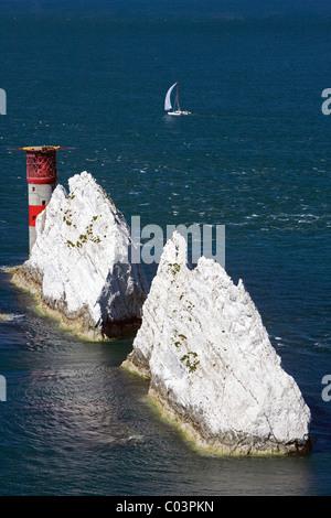 Die Nadeln, Isle Of Wight, Großbritannien - Stockfoto
