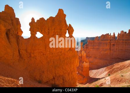 Ansicht der Bryce-Canyon-Nationalpark - Stockfoto