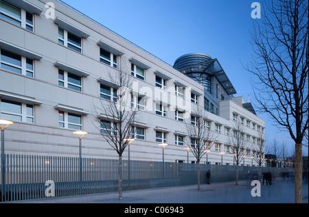 US-Botschaft am Pariser Platz-Platz, Berlin-Mitte, Berlin, Deutschland, Europa - Stockfoto