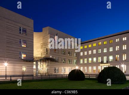 US-Botschaft am Pariser Platz Platz, Haus Sommer bauen, Commerzbank, Berlin-Mitte, Berlin, Deutschland, Europa - Stockfoto