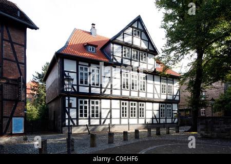 Fachwerkhaus, Magniviertel Viertel, Altstadt, Braunschweig, Niedersachsen, Deutschland, Europa - Stockfoto