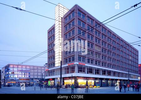 Haus Alexander, Alexanderplatz, Berlin-Mitte, Berlin, Deutschland, Europa - Stockfoto