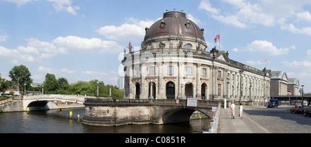 Museumsinsel, Bode-Museum, Berlin, Deutschland, Europa - Stockfoto